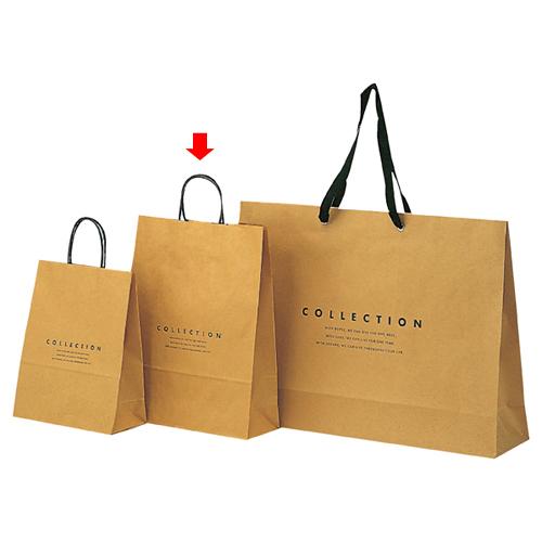 コレクション 32×11×40 400枚【店舗備品 包装紙 ラッピング 袋 ディスプレー店舗】【厨房館】