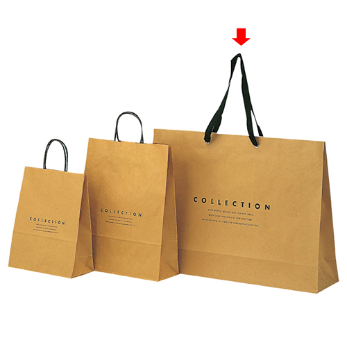 コレクション 60×15×43 50枚【店舗備品 包装紙 ラッピング 袋 ディスプレー店舗】【厨房館】