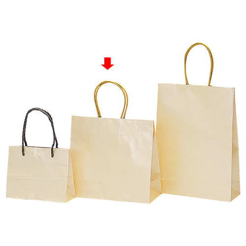 パールカラー クリーム S 200枚【店舗備品 包装紙 ラッピング 袋 ディスプレー店舗】【厨房館】