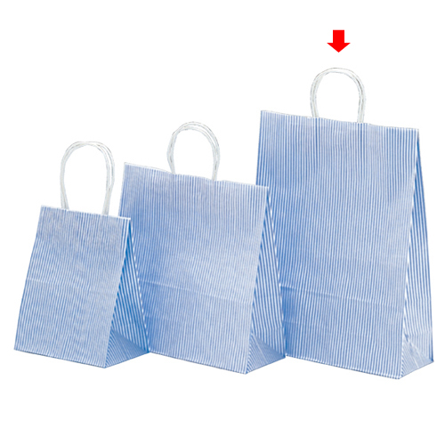 【まとめ買い10個セット品】 モノストライプ 32×11.5×41 200枚【店舗備品 包装紙 ラッピング 袋 ディスプレー店舗】【厨房館】