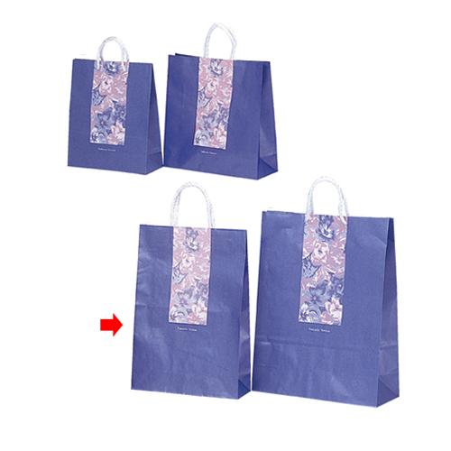 ブロッサム 32×11×45 200枚【店舗備品 包装紙 ラッピング 袋 ディスプレー店舗】【厨房館】