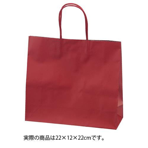 マットバッグ ワイン 22×12×22 100枚【店舗備品 包装紙 ラッピング 袋 ディスプレー店舗】【厨房館】