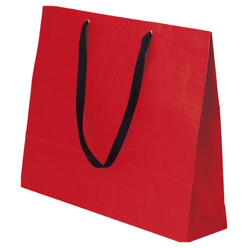 【まとめ買い10個セット品】 ショルダーバッグ カラー ルージュ 50枚【店舗備品 包装紙 ラッピング 袋 ディスプレー店舗】【厨房館】
