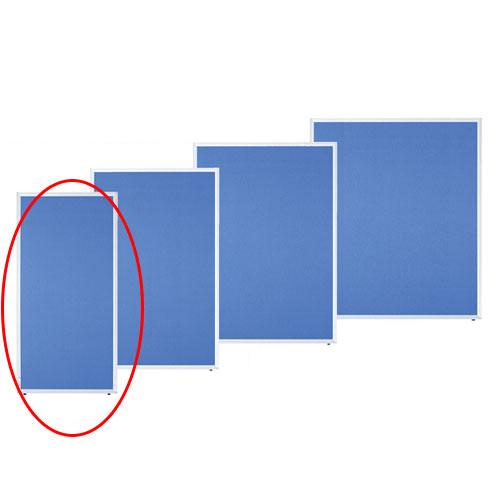 【まとめ買い10個セット品】 アルミパーティション 布張り フック連結タイプ ブルー H150×W70cm 【メーカー直送/代金引換決済不可】【店舗備品 店舗インテリア 店舗改装】【厨房館】