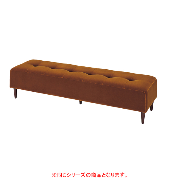 【まとめ買い10個セット品】 バギーベンチ W170cm モケット ブルー 【厨房館】