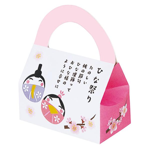 【まとめ買い10個セット品】 ひな祭りボックス100個 【ひなまつり 桃の節句 イベント 装飾】 【厨房館】