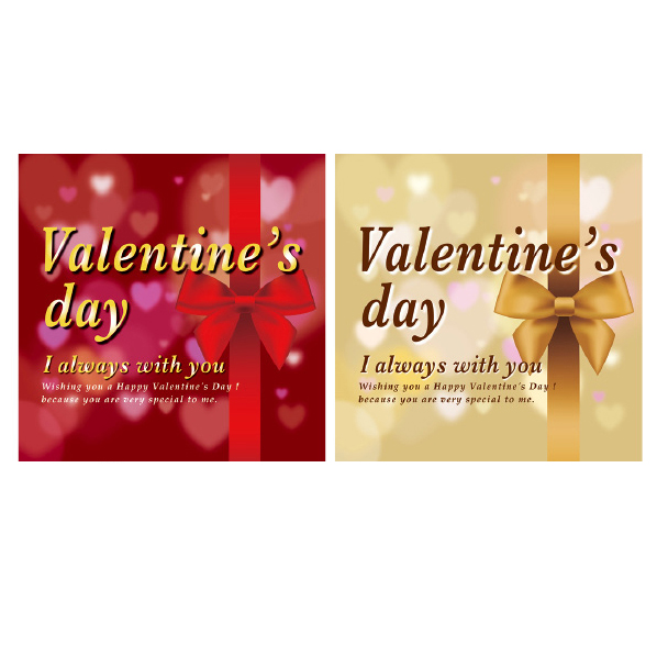 【まとめ買い10個セット品】 バレンタインデーリボン テーマポスター10枚 【バレンタインデー 飾り イベント 装飾】 【厨房館】