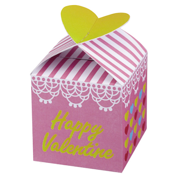 【まとめ買い10個セット品】 バレンタインハートチョコ キューブ100個 【バレンタインデー グッズ 飾り イベント 装飾】 【厨房館】