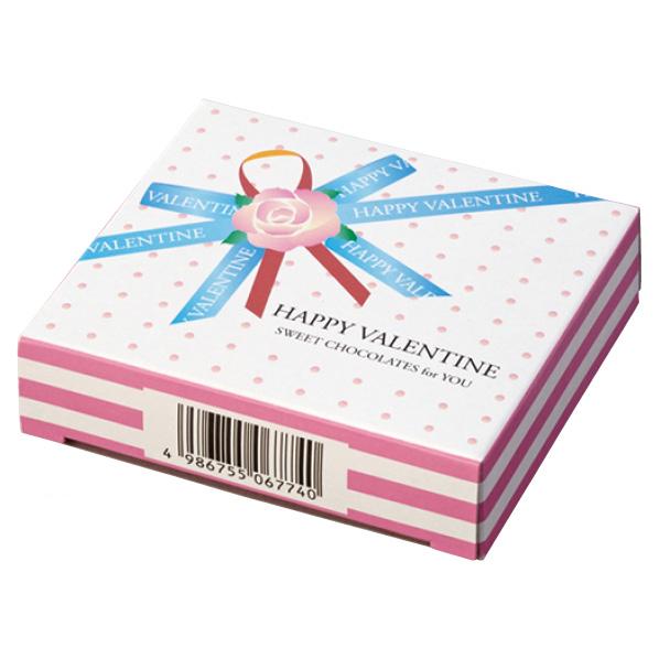 【まとめ買い10個セット品】 バレンタインハートチョコ ボックス100個 【バレンタインデー グッズ 飾り イベント 装飾】 【厨房館】