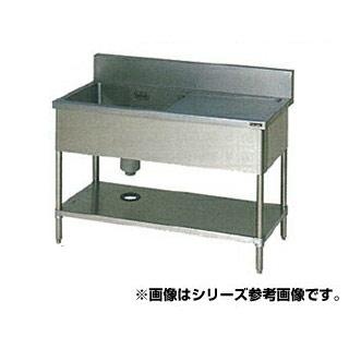【 業務用 】マルゼン 一槽水切シンク BG有 W900×D450×H800〔BSM1X-094L〕 【 メーカー直送/代引不可 】