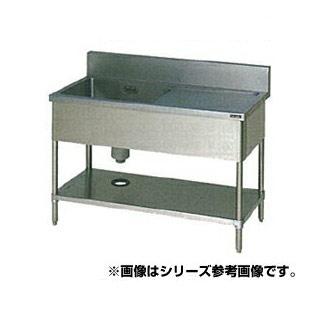 【 業務用 】マルゼン 一槽水切シンク BG有 W900×D600×H800〔BSM1X-096R〕 【 メーカー直送/代引不可 】