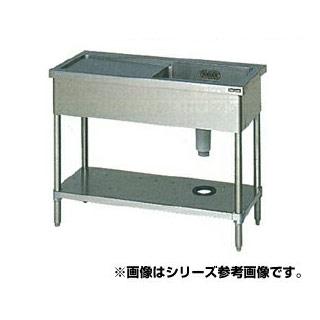 【 業務用 】マルゼン 一槽水切シンク BG無 W1200×D750×H800〔BSM1X-127RN〕 【 メーカー直送/代引不可 】
