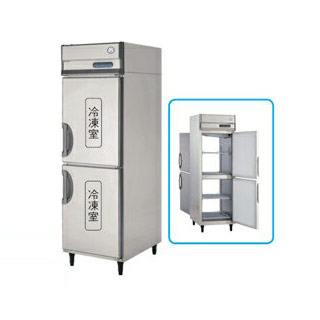 【 業務用 】福島工業 フクシマ パススルー冷凍庫 幅610mm 奥行840mm タイプ PRD-062FM7