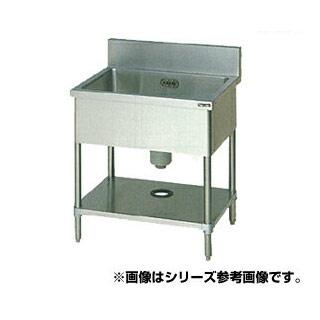 【 業務用 】マルゼン 1槽シンク BS1-156 【 メーカー直送/代引不可 】