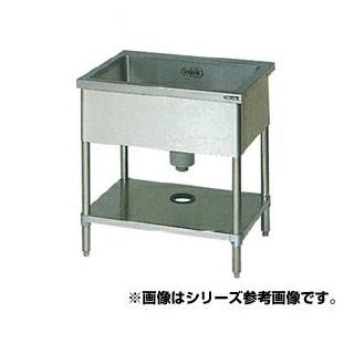 【 業務用 】マルゼン 1槽シンク BS1-157N 【 メーカー直送/代引不可 】