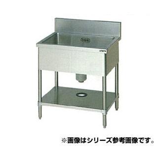 【 業務用 】マルゼン 1槽シンク BS1X-156 【 メーカー直送/代引不可 】