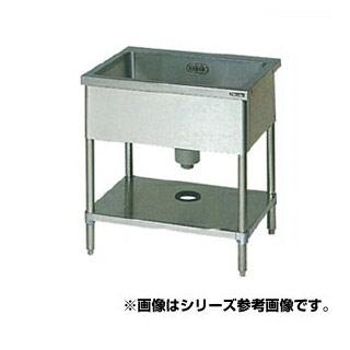 【 業務用 】マルゼン 1槽シンク BS1X-187N 【 メーカー直送/代引不可 】