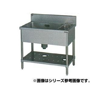 【 業務用 】マルゼン 1槽ゴミ入付シンク BSG1-096R 【 メーカー直送/代引不可 】