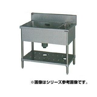 【 業務用 】マルゼン 1槽ゴミ入付シンク BSG1X-126L 【 メーカー直送/代引不可 】