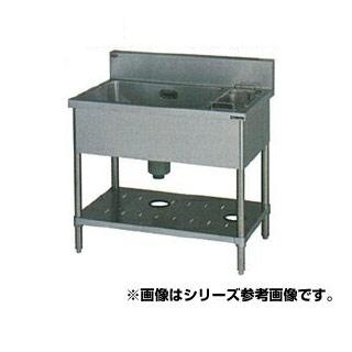 【 業務用 】マルゼン 1槽ゴミ入付シンク BSG1X-126R 【 メーカー直送/代引不可 】