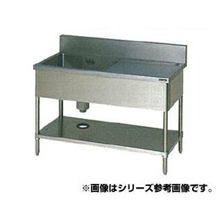 【 業務用 】マルゼン 1槽水切付シンク BSM1-186R 【 メーカー直送/代引不可 】
