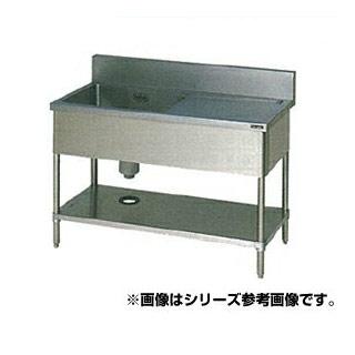 【 業務用 】マルゼン 1槽水切付シンク BSM1X-156L 【 メーカー直送/代引不可 】