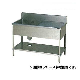 【 業務用 】マルゼン 1槽水切付シンク BSM1X-186L 【 メーカー直送/代引不可 】