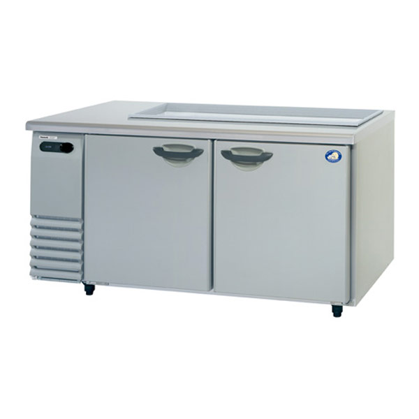 パナソニック サンドイッチユニット冷蔵庫 SUR-GS1561SA W1500×D600×H812 SUR-GS1561SA【 業務用冷蔵庫 横型冷蔵庫 業務用横型冷蔵庫 台下冷蔵庫 コールドテーブル 】