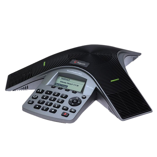 【送料無料・代引不可】Polycom/ポリコム 音声会議システム SoundStation Duo(2200-19000-002)