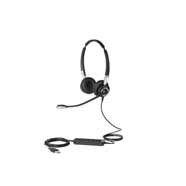【送料無料】GNネットコム Jabra BIZ 2400II USB Duo UC CC ヘッドセット(2499-829-309)