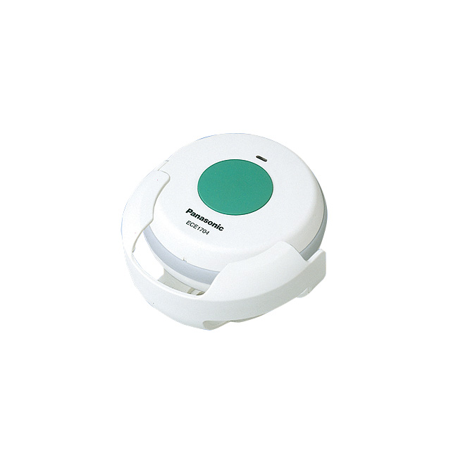 パナソニック 小電力型ワイヤレスコール専用浴室発信器(ホルダー付)ECE1704P