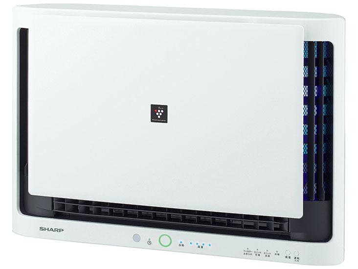 【送料無料・代引不可】SHARP/シャープ 壁掛け/棚置き兼用型プラズマクラスター空気清浄機 FU-MK500-W(約15畳用)
