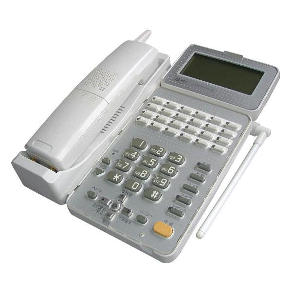 中古NTTビジネスホン 24ボタンカールコードレススター電話機 GX-<24>CCLSTEL-<2><W>【中古】