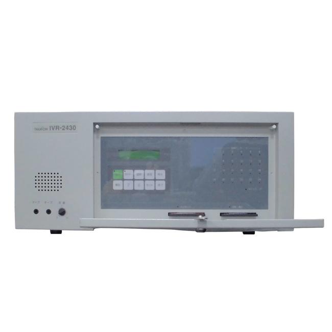 中古タカコム 音声応答転送装置 IVR-2430とIVR-2430-A6※ユニット6回線と合わせて12回線【中古】