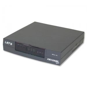 【送料無料・代引不可】レッツコーポレーション 2回線収容FAX回線切替器 FAXTANC TOP(L-206)
