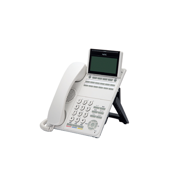 【送料無料】NEC Aspire WX「DT500シリーズ」12ボタンデジタル多機能電話機 DTK-12D-1D(WH)TEL※ホワイト