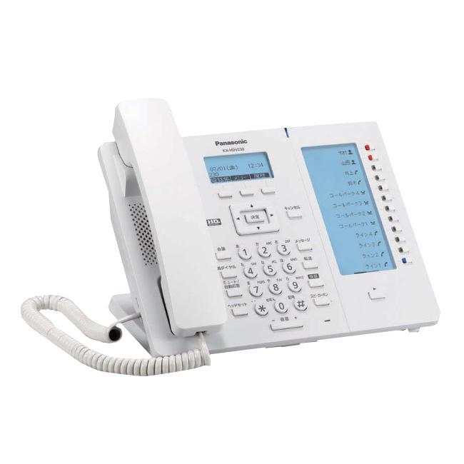 【送料無料】Panasonic/パナソニック IP電話機 KX-HDV230N※ホワイト系