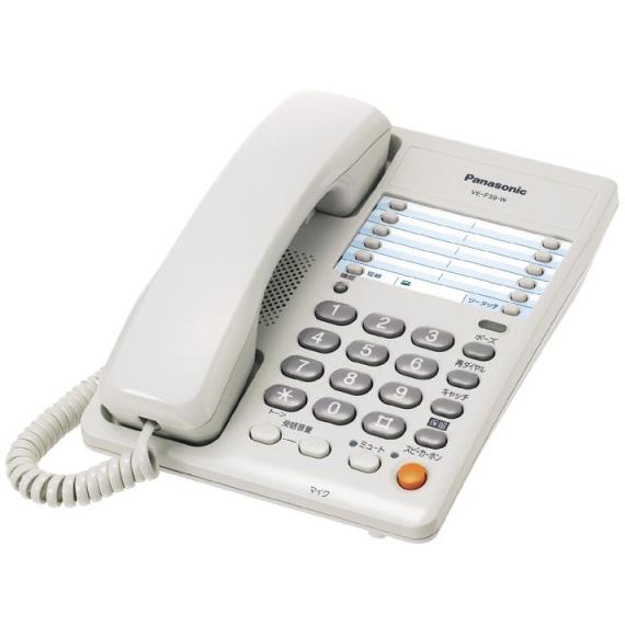 Panasonic/パナソニック 電話機 VE-F39-W(ホワイト)