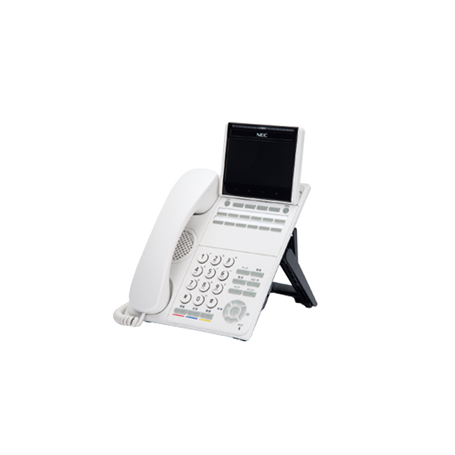 【送料無料】NEC Aspire WX(アスパイアWX) 「DT900シリーズ」12ボタンカラーIP多機能電話機 ITK-12CG-1D(WH)TEL※ホワイト