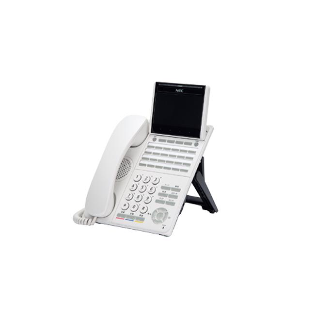 【送料無料】NEC Aspire WX(アスパイアWX) 「DT900シリーズ」24ボタンカラーIP多機能電話機 ITK-24CG-1D(WH)TEL※ホワイト