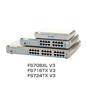 【送料無料】アライドテレシス スイッチ CentreCOM FS724TX V3(0251R)※RoHS