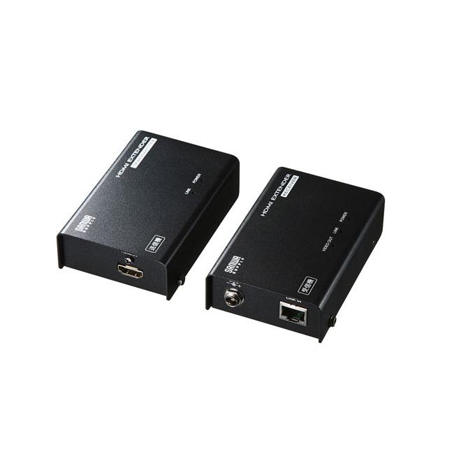 【送料無料】サンワサプライ HDMIエクステンダー(セットモデル) VGA-EXHDLT
