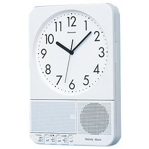【送料無料】パナソニック チャイム専用時計★ベルタイマーTD73 メロディウィーク(録音機能付)
