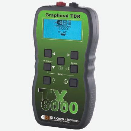 【送料無料・代引不可】グッドマン TDRケーブル測長・診断機 TX6000