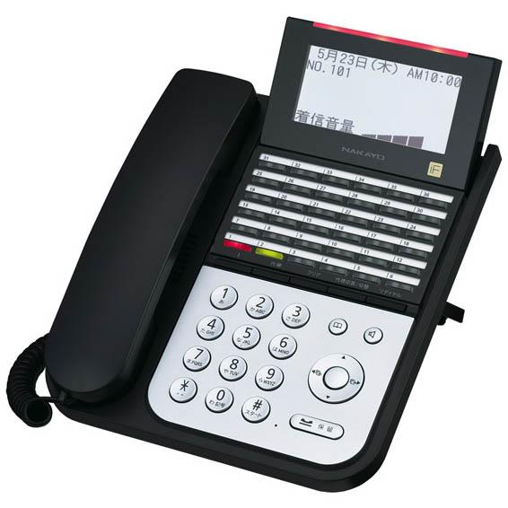 【送料無料】NAKAYO/ナカヨ NYC-iF 36ボタン標準電話機(B) NYC-36IF-SDB