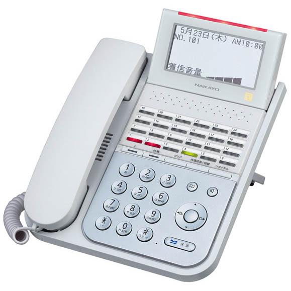 【送料無料】NAKAYO/ナカヨ NYC-iF 24ボタンIP標準電話機(W) NYC-24IF-IPSDW