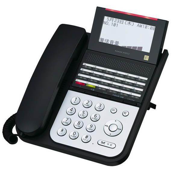 【送料無料】NAKAYO/ナカヨ NYC-iF 24ボタンIP標準電話機(B) NYC-24IF-IPSDB