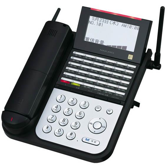 【送料無料】NAKAYO/ナカヨ NYC-iF 36ボタンIPディジタルハンドルコードレス電話機(B) NYC-36IF-IPDHCLB