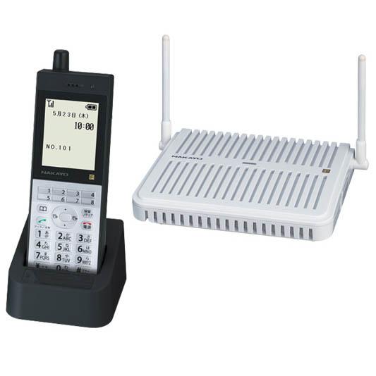 【送料無料】NAKAYO/ナカヨ NYC-iF 8ボタンディジタルコードレス電話機S(B) NYC-8IF-DCLSB