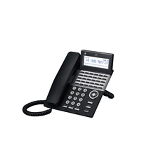 【送料無料】saxa/サクサ PLATIAII(プラティア2) 30ボタン電話機 TD820(B)※ブラック